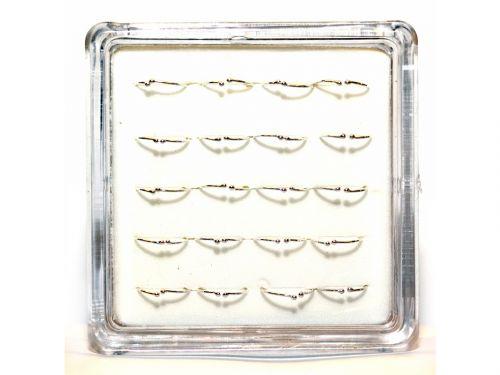 Ασημένιο σκουλαρίκι μύτης fake κρίκος 10mm
