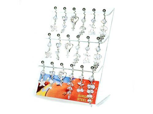 Σκουλαρίκι αφαλού κρεμαστό με διάφορα σχέδια